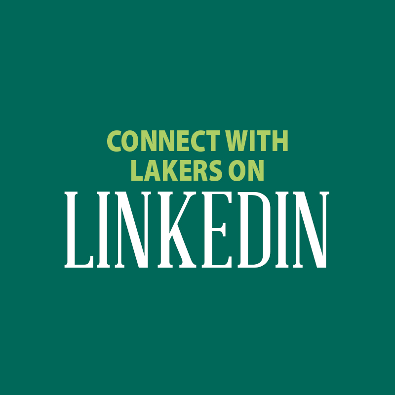 connect with lakers on linkedin