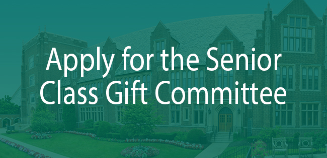 senior class gift committee application