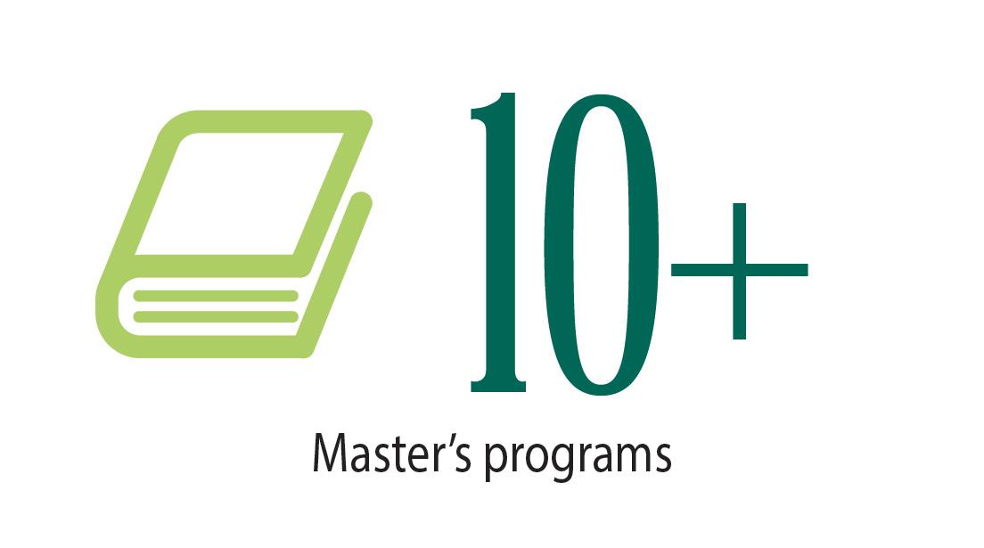 10 master's programs