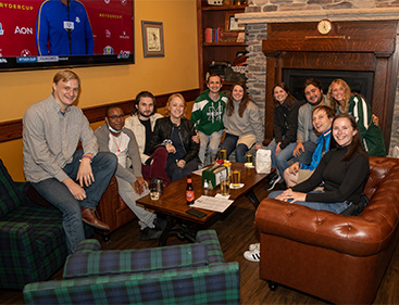 alumni at the roost