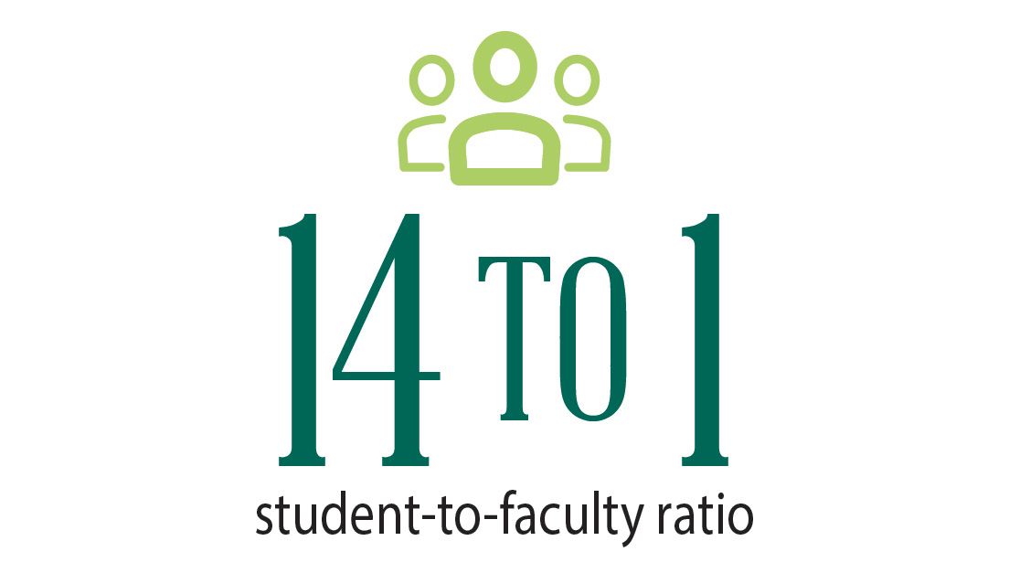 14-to-1 faculty ratio
