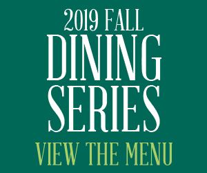 Marriot Cafe fall dining series