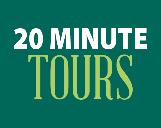 20 minute tours