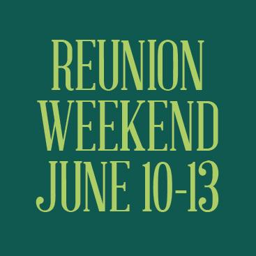 reunion weekend promo